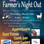 Farmer's Night Out flyer